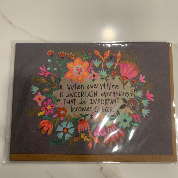 Framable Greeting Card with envelope